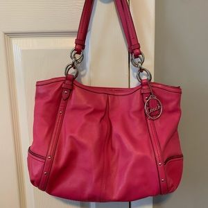 Bright Pink Coach Bag